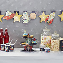 Buy Ginger Ray Space Bunting, L3.5m Online at johnlewis.com