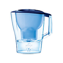 Buy Brita Aluna Water Filter Jug, Cool Frosted Blue Online at johnlewis.com
