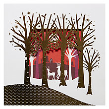 Buy Lacie Forest Christmas Card Online at johnlewis.com