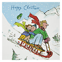 Buy Quentin Blake Festive Express Christmas Card Online at johnlewis.com