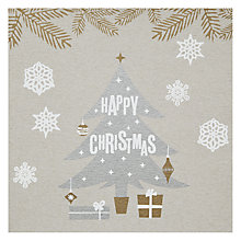 Buy Artic Frost Happy Christmas Tree Card Online at johnlewis.com