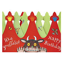 Buy Woodmansterne Gruffalo Crown Greeting Card Online at johnlewis.com
