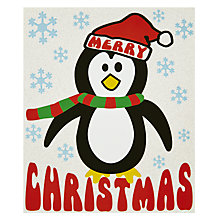 Buy Candy Floss Penguin Christmas Card Online at johnlewis.com