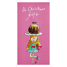 Buy Quentin Blake Little Pudding Christmas Card Online at johnlewis.com