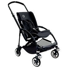 Buy Bugaboo Bee 3 Black Base with Seat Online at johnlewis.com