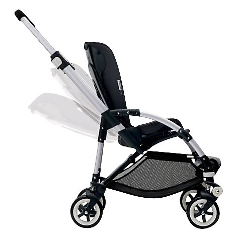 Buy Bugaboo Bee 3 Pushchair Base, Aluminium Online at johnlewis.com