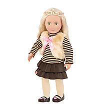 Buy Our Generation Doll & Fur Outfit Online at johnlewis.com