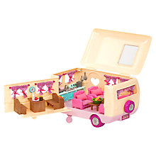 Buy Li'l Woodzeez Camper Van Playset Online at johnlewis.com