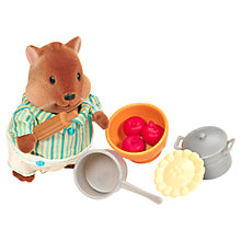 Buy Li'l Woodzeez Squirrel & Baking Figure Online at johnlewis.com