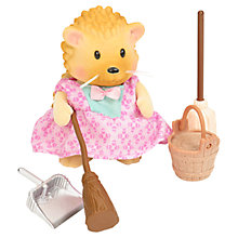Buy Li'l Woodzeez Hedgehog Mop & Broom Figure Online at johnlewis.com