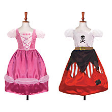 Buy Travis Designs Reversible Princess & Pirate Costume Online at johnlewis.com