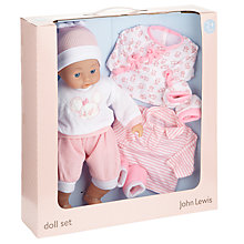 Buy John Lewis My Sweet Home Doll & Clothes Set Online at johnlewis.com