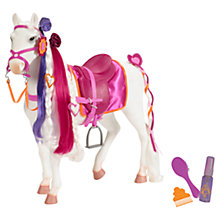 Buy Colourful Hair Play Horse & Accessories Online at johnlewis.com