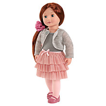 Buy Our Generation Doll & Pink Skirt Outfit Online at johnlewis.com