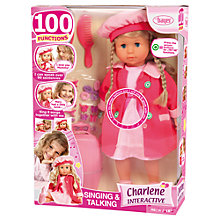 Buy Charlene Singing & Talking Doll Online at johnlewis.com