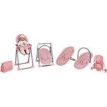 Buy John Lewis Baby Doll 4-In-1 Highchair Set Online at johnlewis.com