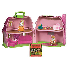 Buy Hoppingood Rabbit Family Cottage Playset Online at johnlewis.com