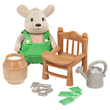 Buy Li'l Woodzeez Mouse Gardener Figure Online at johnlewis.com