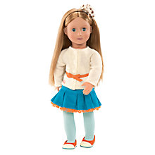 Buy Our Generation Doll & Corduroy Outfit Online at johnlewis.com