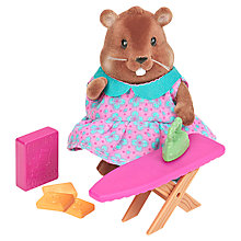 Buy Li'l Woodzeez Beaver Ironing Play Set Online at johnlewis.com