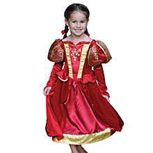 Buy Travis Designs Medieval Queen Costume Dress, 6-8 years Online at johnlewis.com