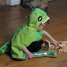 Buy Travis Designs Green Dinosaur Dressing-Up Costume Online at johnlewis.com