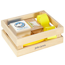 Buy John Lewis Wooden Grocery Crate Set Online at johnlewis.com