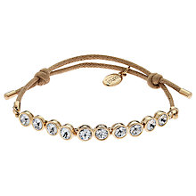 Buy Cachet London Swarovski Solitaire Row Friendship Bracelet Online at johnlewis.com