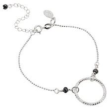 Buy Claudia Bradby Eclipse Dancing Ring Spinel Bracelet, Silver Online at johnlewis.com