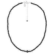 Buy Claudia Bradby Spinel and Labradorite Bead Necklace, Black Online at johnlewis.com