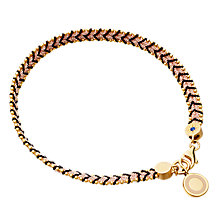 Buy Astley Clarke Moonlight Cosmos Dusky Stones Bracelet, Yellow Gold Online at johnlewis.com