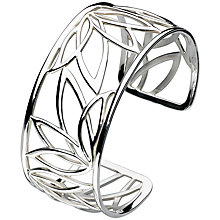 Buy Kit Heath Lotus Sterling Silver Cuff Online at johnlewis.com