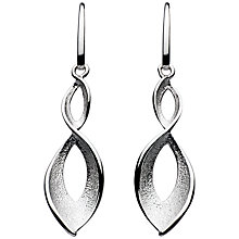 Buy Kit Heath Sterling Silver Twist Earrings Online at johnlewis.com