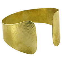 Buy Made Shipangalia Cuff, Gold Online at johnlewis.com
