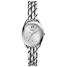 Buy Fossil Women's Sculptor Stainless Steel Bracelet Watch Online at johnlewis.com