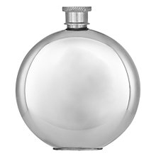 Buy John Lewis Round Plain Flask Online at johnlewis.com