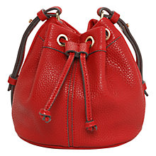 Buy Mango Pebbled Bucket Bag Online at johnlewis.com