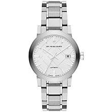 Buy Burberry Men's The City Automatic Bracelet Strap Watch Online at johnlewis.com