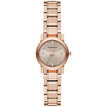 Buy Burberry Women's The City Mini Bracelet Strap Watch Online at johnlewis.com