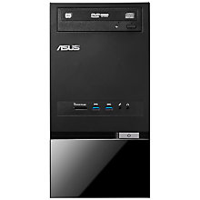 Buy Asus K5130 Desktop PC, Intel Core i5, 8GB RAM, 1TB, Black + Norton 360 Online at johnlewis.com
