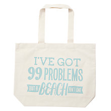 Buy Alphabet Bags Big Canvas Tote Bag Online at johnlewis.com
