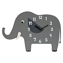 Buy little home at John Lewis Animal Fun Wall Clock Online at johnlewis.com