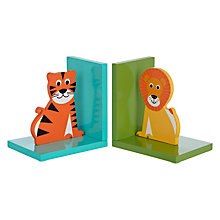 Buy little home at John Lewis Animal Fun Bookends, Set of 2 Online at johnlewis.com