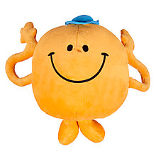 Buy Mr Men Mr Tickle Reversible Cushion and Travel Pillow Online at johnlewis.com