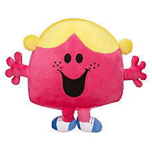 Buy Mr Men Little Miss Chatterbox Reversible Cushion and Travel Pillow Online at johnlewis.com