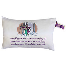 Buy Roald Dahl Charlie and The Chocolate Factory Boudoir Cushion Online at johnlewis.com