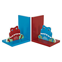 Buy little home at John Lewis Dino Was Here Bookends, Set of 2 Online at johnlewis.com