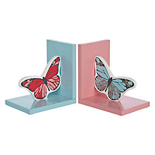 Buy little home at John Lewis Little Fairy Bookends, Set of 2 Online at johnlewis.com