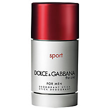 Buy Dolce & Gabbana The One Male Sport Deodorant Stick Online at johnlewis.com
