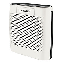 Buy Bose® SoundLink® Colour Bluetooth Speaker, White with FREE Colour Case Online at johnlewis.com